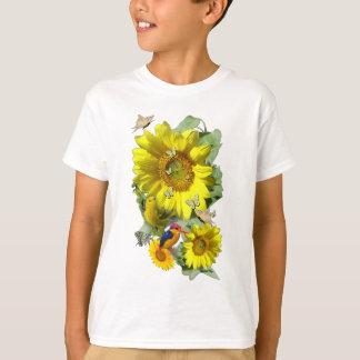 Sonnenblume-Party T-Shirt