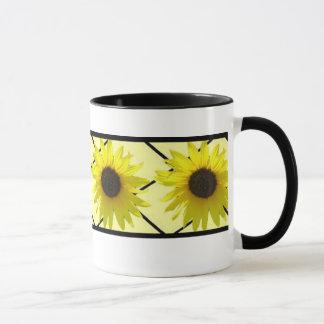 Sonnenblume-Ring Tasse