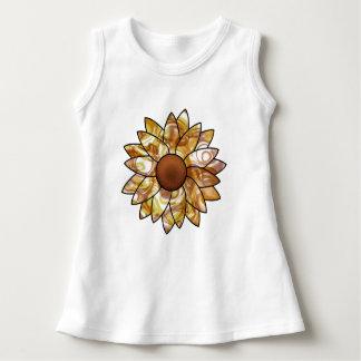 Sonnenblume-Schwingungen Kleid