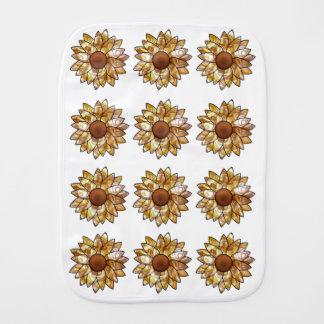 Sonnenblume-Schwingungen Spucktücher