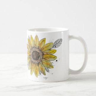 Sonnenblume Tasse