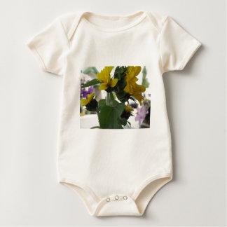 Sonnenblumen Baby Strampler