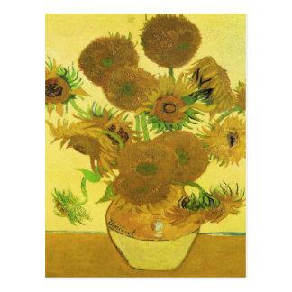 Sonnenblumen durch Vincent van Gogh Postkarte