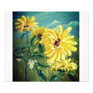 Sonnenblumen Fotodruck