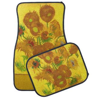 Sonnenblumen Van Gogh fünfzehn in einer Automatte