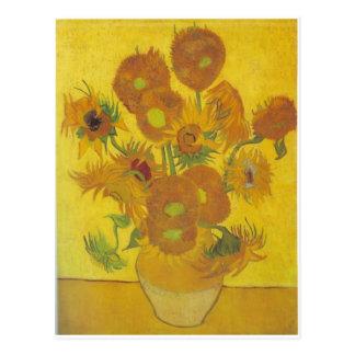 Sonnenblumen - Vincent van Gogh Postkarte