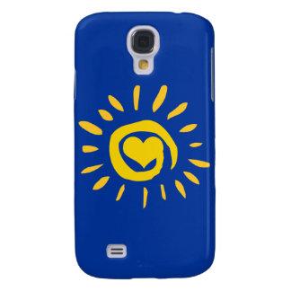 Sonnenschein-Herz iPhone 3G Fall Galaxy S4 Hülle