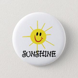 Sonnenschein Runder Button 5,1 Cm