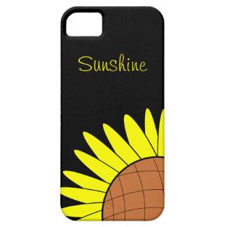 Sonnenschein-Sonnenblume iPhone 5 Schutzhülle
