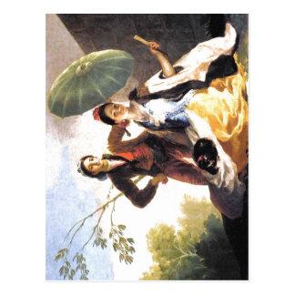 Sonnenschirm Espa Francisco de Goya The? ol: Postkarte