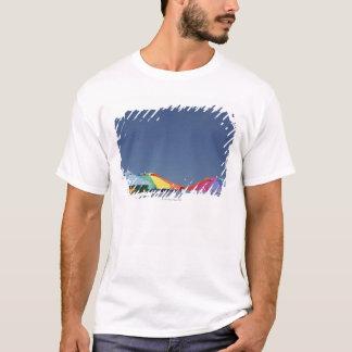 Sonnenschirme am Strand. Sonnenschirme T-Shirt