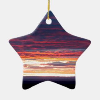 Sonnenuntergang am Grand Canyon Keramik Ornament