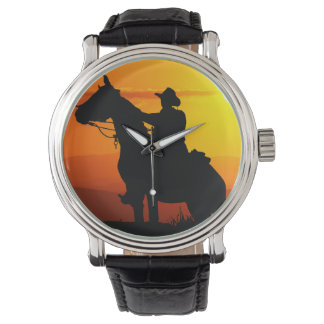Sonnenuntergang Armbanduhr