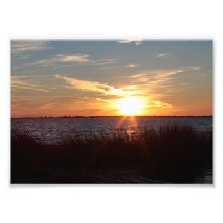 Sonnenuntergang auf Chincoteague Insel Fotos