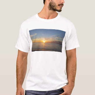 Sonnenuntergang auf Danksagung T-Shirt