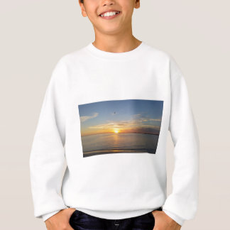 Sonnenuntergang auf Danksagung Tshirt