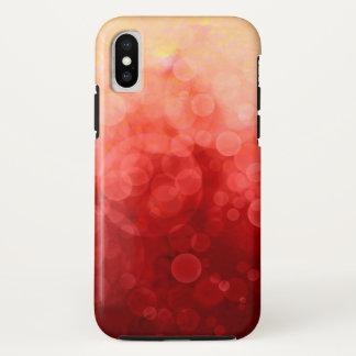 Sonnenuntergang gepunktet - Apple iPhone Fall iPhone X Hülle