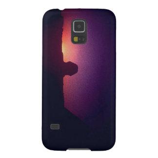 Sonnenuntergang hinter der Sphinxe Samsung Galaxy S5 Hüllen