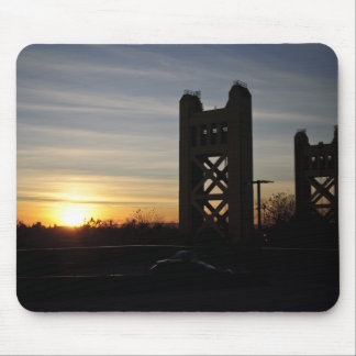 Sonnenuntergang im alten Beutel Mousepad
