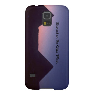 Sonnenuntergang in Giseh Samsung Galaxy S5 Cover