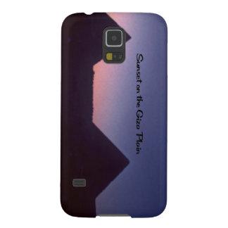 Sonnenuntergang in Giseh Samsung Galaxy S5 Hülle