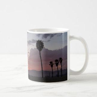 Sonnenuntergang: Santa Monica, Ca Tasse