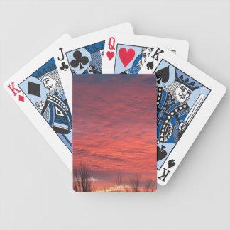Sonnenuntergang-Spielkarten Bicycle Spielkarten