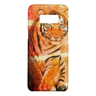 Sonnestrahl Tiger des wilden Tieres des Grunge Case-Mate Samsung Galaxy S8 Hülle