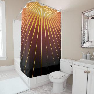 Sonnestrahlen Duschvorhang