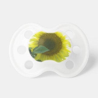 Sonnige Sonnenblume Baby Schnuller