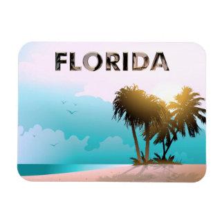 Sonniger Florida-Strand Magnet