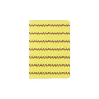 Sonniger Pass-Halter mit Streifen-Entwurf Passhülle
