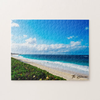 Sonniger Tag am Strand Puzzle