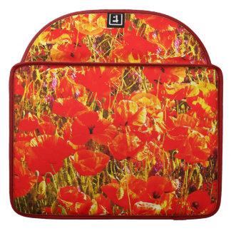 Sonniges Feld des roten Sleeve Für MacBooks