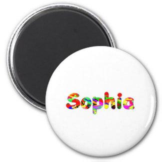 Sophia Runder Magnet 5,7 Cm