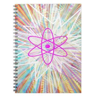 Soul-Power: Sonnenenergie-künstlerischer Entwurf Notizbücher