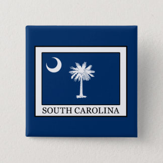 South Carolina Quadratischer Button 5,1 Cm