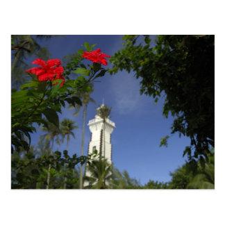 South Pacific, Französisch-Polynesien, Tahiti. Postkarte