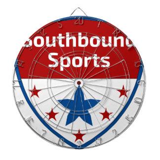 Southbound Sport-Wappen-Logo Dartscheibe