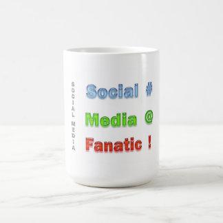 Sozialmedien fanatisch tasse