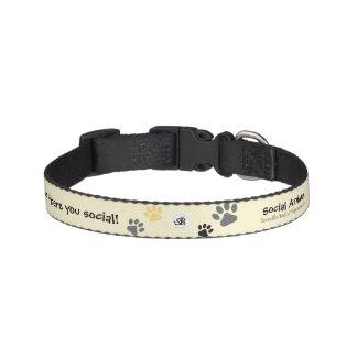 Sozialtierhaustier-Kragen Hundehalsband