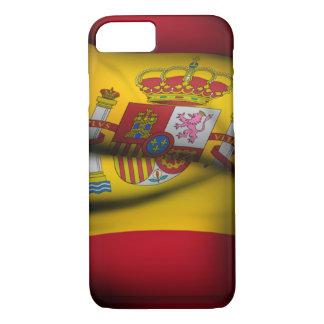 Spanien-Flagge iPhone 7 Fall iPhone 8/7 Hülle