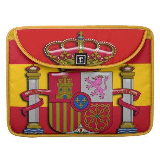 Spanien-Flaggen-Wappen 15 Zoll Sleeve Für MacBook Pro
