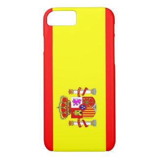 Spanien-Landesflaggekasten iPhone 8/7 Hülle