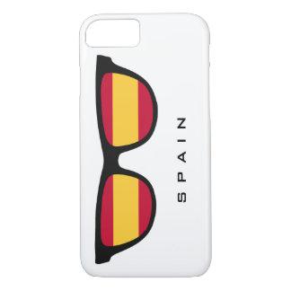 Spanien schattiert kundenspezifische Text- u. iPhone 8/7 Hülle