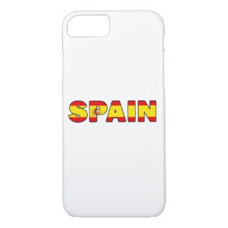 Spanien-Telefonkasten iPhone 8/7 Hülle