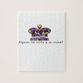 Spanisch-Königin Puzzle