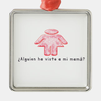Spanisch-Momma Silbernes Ornament