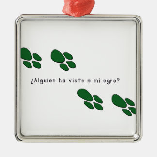 Spanisch-Ungeheuer Silbernes Ornament