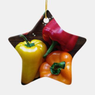 Spanische Pfeffer… Keramik Ornament